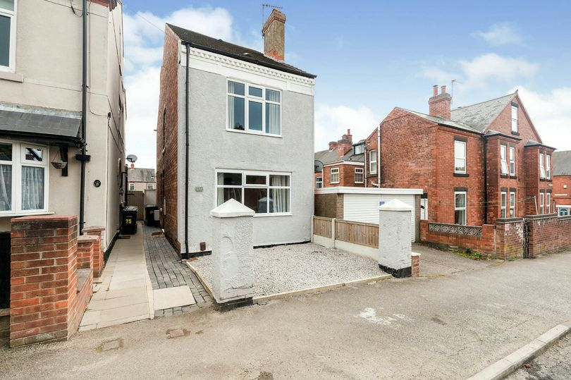 Britain's smallest detached house measuring just 12ft wide for sale for £140,000