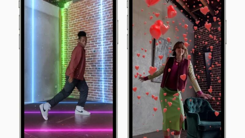 Apple will now let you add virtual lasers and confetti to your Clips videos